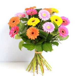 Germini HT bouquet of flowers