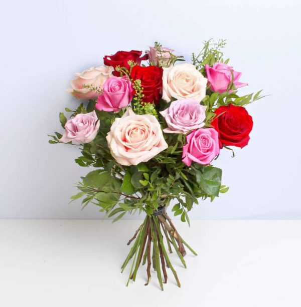 Rose Medley Bouquet of Flowers