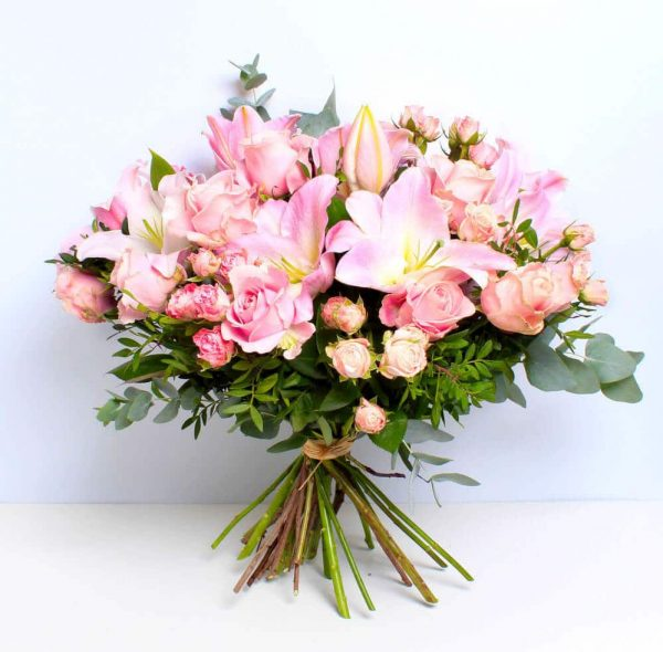 Rose and Lily bouquet of flowers